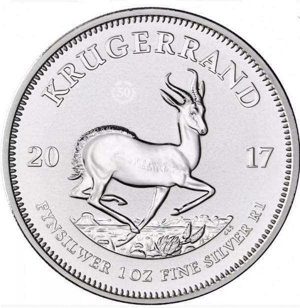 Krugerrand 2017 Silber